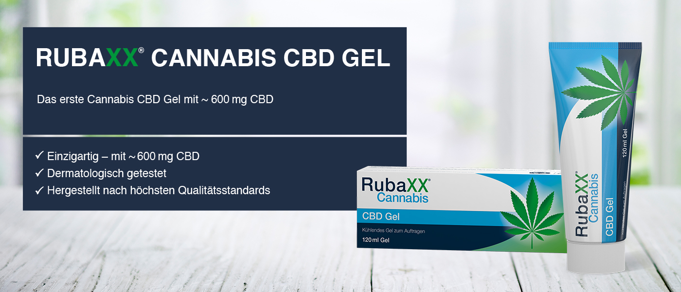 Rubaxx Cannabis CBD GEL